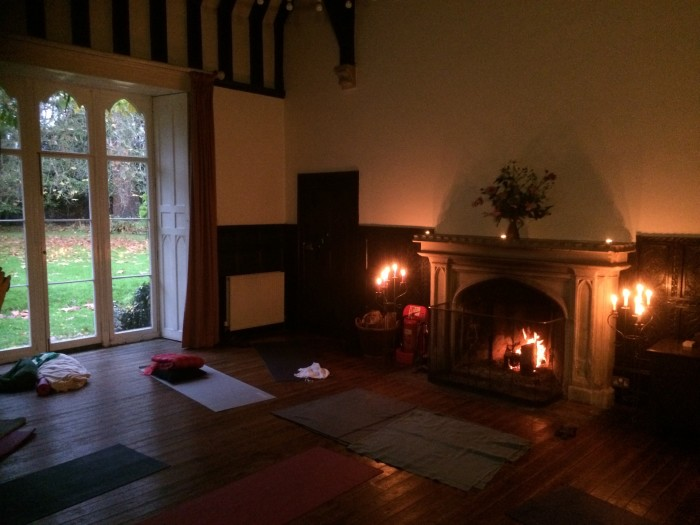 The Great Hall, Yoga practice